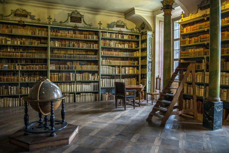 Broumov – Bibliotheek Benedictijnenklooster